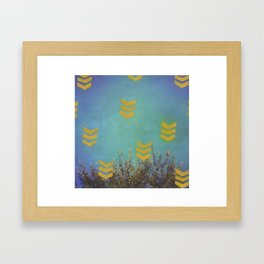 Above the Trees Framed Art Print