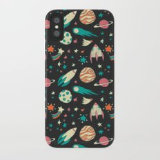 Science Fiction Wrapping Paper No. 1 iPhone X Slim Case
