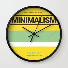MINIMALISM #6 Wall Clock