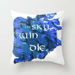 ERAGON -- DRAGON RIDER Throw Pillow