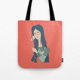 The call Tote Bag