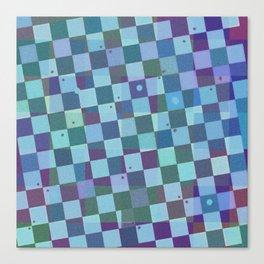 Squared Colors Canvas Print