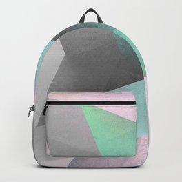 Modern Geometry No 53 Backpack