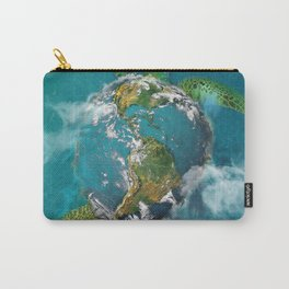 Earth Turtle Carry-All Pouch
