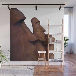 Moai Wall Mural