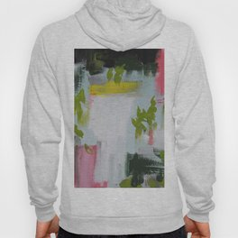 Nature Inspired Abstract Painting Hoody