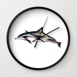 Clymene Dolphin Wall Clock