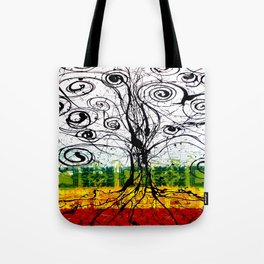 Rasta Tree Tote Bag