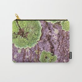 Tree Bark Pattern with Lichen #7 Carry-All Pouch