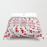 drunk Duvet Covers featuring Drunk Drug by Ashley James