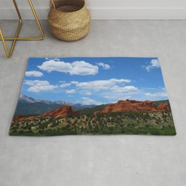 Garden Of Gods View With Kissing Camels Rug