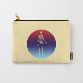 Retro Skeleton Carry-All Pouch