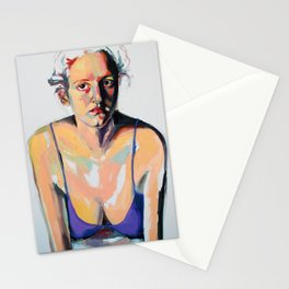 Portrait of Hannah Siegfried Stationery Cards
