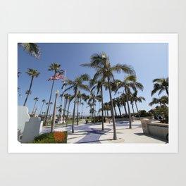 Balboa Pier Art Print