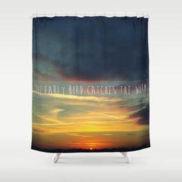 Goodmorning Shower Curtain