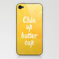 Chin Up Butter Cup iPhone & iPod Skin