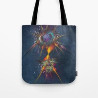dreamcatcher Tote Bags featuring Dreamcatcher by jbjart