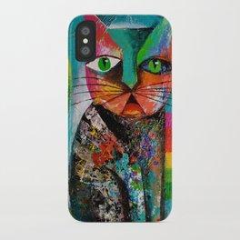 Sour Puss iPhone Case