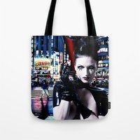 android Tote Bags featuring Android Dreams by Danielle Tanimura