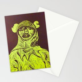 Frog Costume Stationery Cards