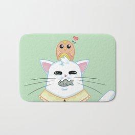 Fatty Catty - Hunter kitti Bath Mat