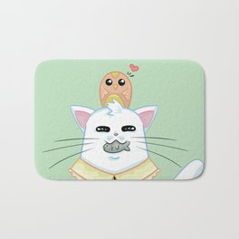 Fatty Catty - Hunter kitti Bath Mat