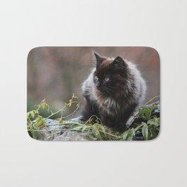 Alert Kitten Bath Mat