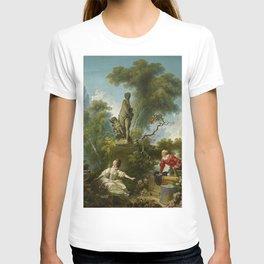 """Jean-Honoré Fragonard """"Les Progrès de l'amour - Le rendez-vous (The Progress of Love)"""" T-shirt"""