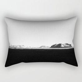 Iceland - Black Sands Rectangular Pillow