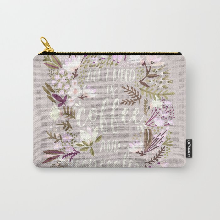 Coffee & Concealer – Spring Palette Carry-All Pouch