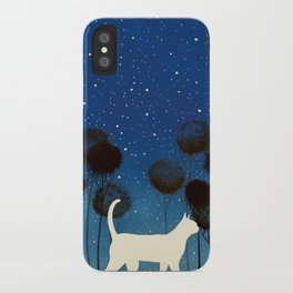 THE POETRY OF A NIGHT by Raphaël Vavasseur iPhone Case