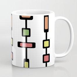 Mid Century Squares Art Coffee Mug