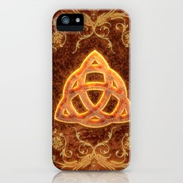 The celtic sign  iPhone Case