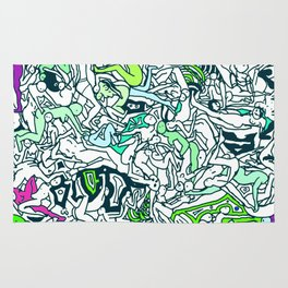 Kamasutra LOVE - Forest Green Rug