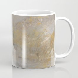 "J.M.W. Turner ""Foul by God - River Landscape with Anglers Fishing From a Weir"" Coffee Mug"