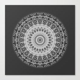 Mandala blast Canvas Print