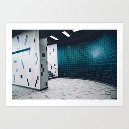 Montreal Subway | Métro de Montréal Art Print