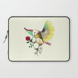 Flying with roses Laptop Sleeve