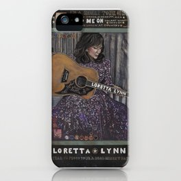 Loretta Lynn iPhone Case