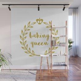 Baking Queen Wall Mural
