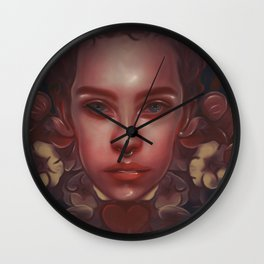 Waiting for the spring Wall Clock