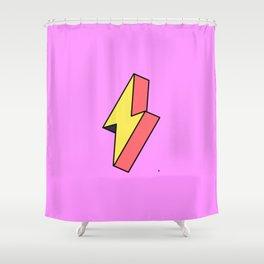 Thunderbolt Shower Curtain