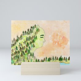 Lady of the Mountain Mini Art Print