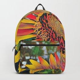 Nontraditional Sunflower Backpack