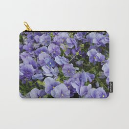 Pansy flower Carry-All Pouch