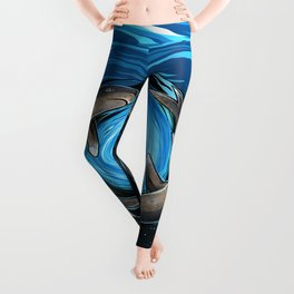 Shark Mandala Leggings