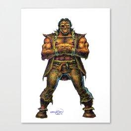 Farc the Half Ogre Canvas Print