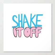 Shake It Off Canvas Print