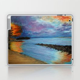 Tropical Sunset Laptop & iPad Skin