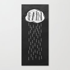Midnight Rain Canvas Print